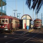 Trams at Glenelg