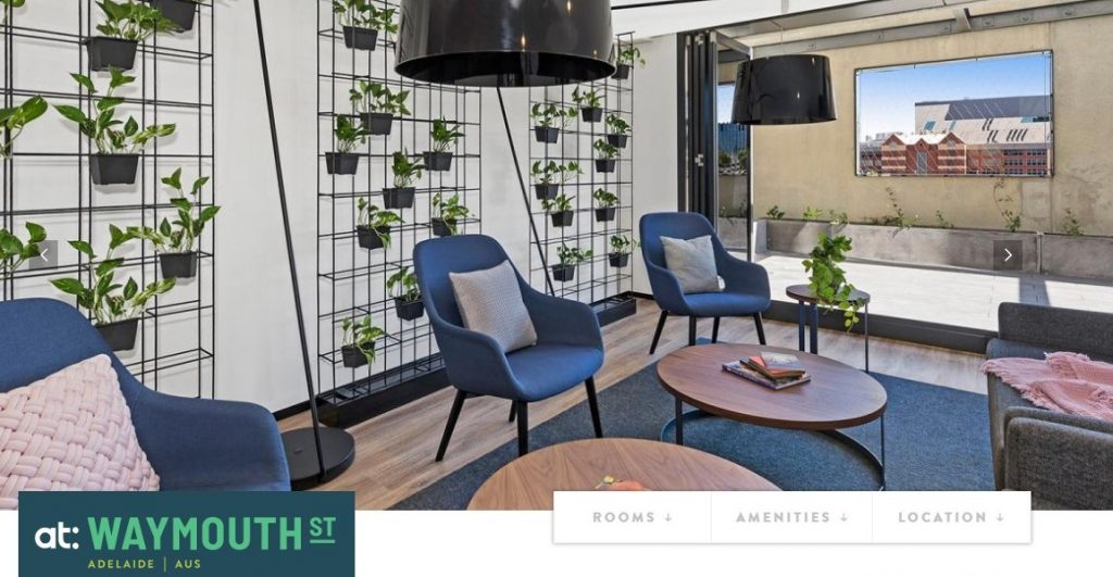 student accommodation in Adelaide